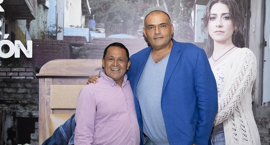 Luis Eduardo Díaz, exconcejal, y Enrique Carriazo, actor.