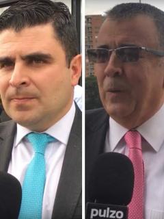 Jorge Bermúdez, Juan Felipe Cadavid y Javier Hernández Bonnet