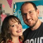 Diana Cáliz y Andrés Parra