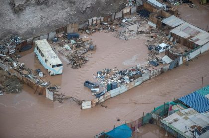 Terreno inundado
