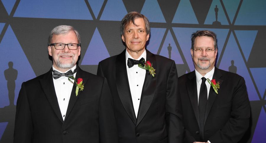 Mark Hamburg, Thomas Knoll y John Knoll