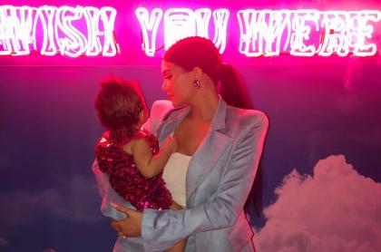 Kylie Jenner y su hija, Stormi