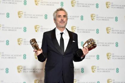 Alfonso Cuarón en los premios Bafta 2019