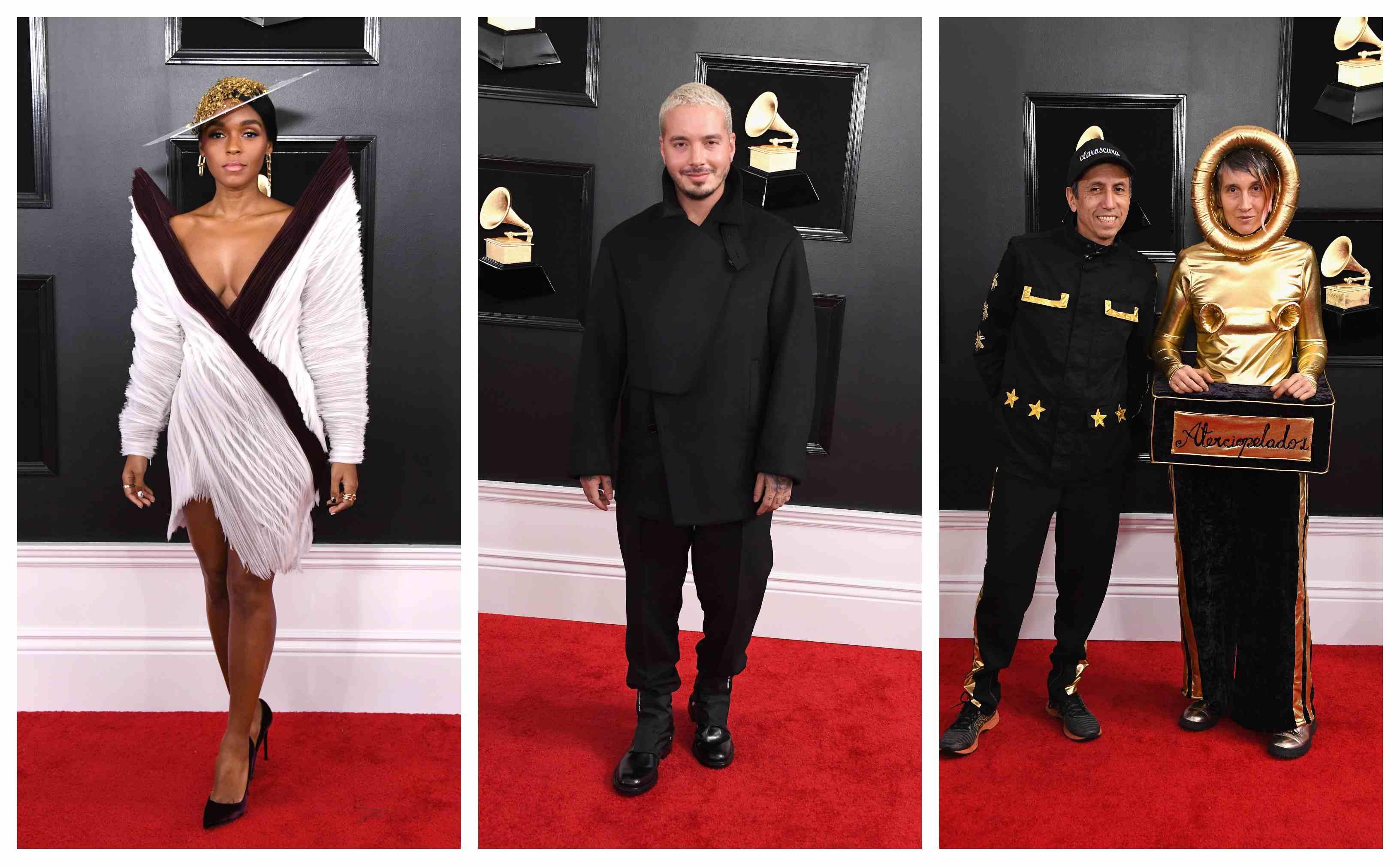 Andrea Echeverry Y J Balvin Entre Los Mejor Y Peor Vestidos De Los Grammy 2019