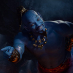 Will Smith como el genio de Aladdin