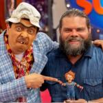 Suso, humorista, y Julián Caicedo, actor.