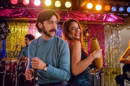 Variel Sánchez y Carla Giraldo, actores.