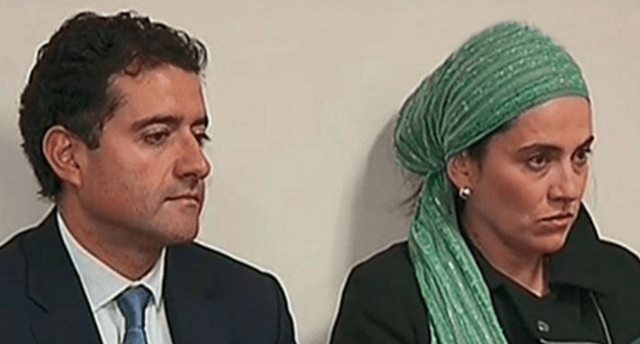 Francisco y Catalina Uribe Noguera, hermanos de Rafael Uribe Noguera