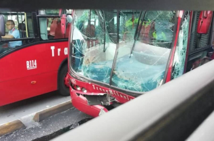 Accidentes Transmilenio