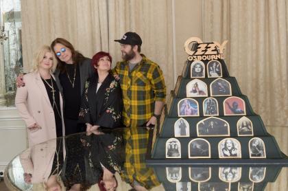 Kelly Osbourne, Ozzy Osbourne, Sharon Osbourne y Jack Osbourne