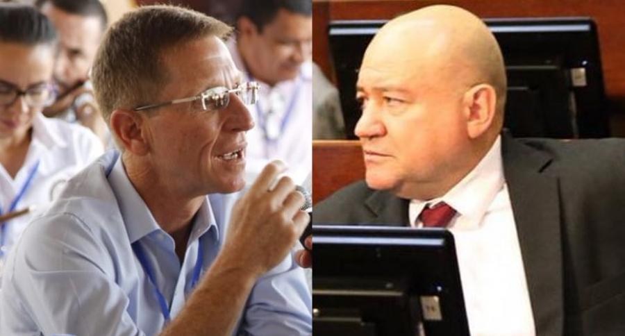 Emilio Achila y Carlos Lozada