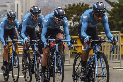 Nairo Quintana y Movistar Team