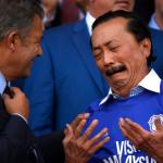 Vincent Tan y Mehmet Dalman, dueño y presidente del Cardiff City