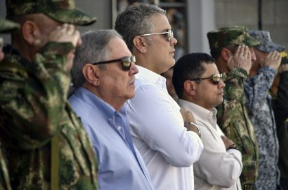 La cúpula militar colombiana