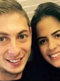 Emiliano Sala y Luiza Urgerer