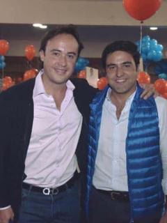 Nicolás Gaviria y Samuel Hoyos
