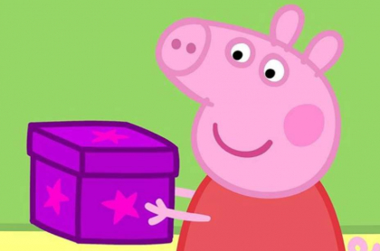 'Peppa pig'.