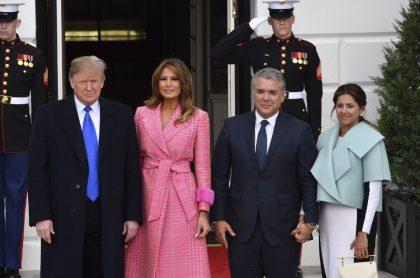 Donald Trump e Iván Duque