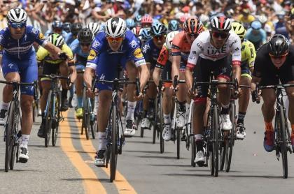 Tour Colombia, ciclistas