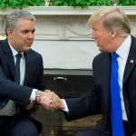 Duque con Trump