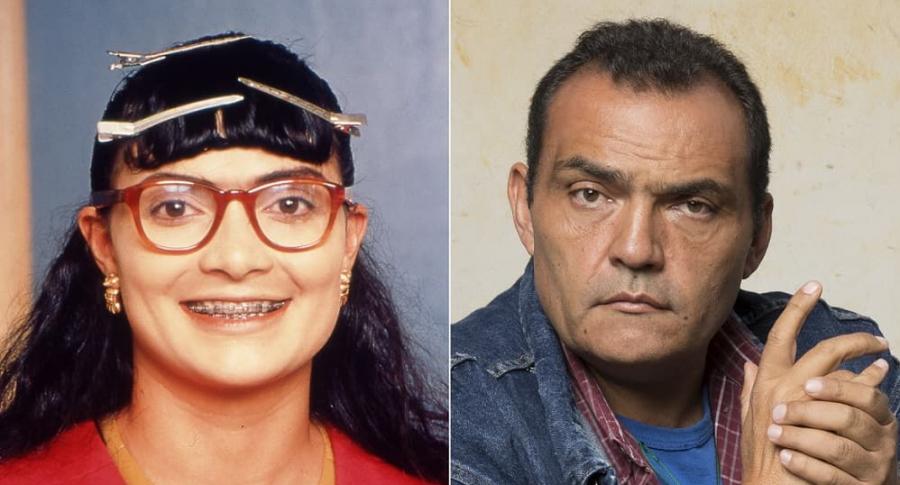Ana María Orozco y Enrique Carriazo, actores.