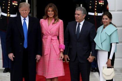 Iván- Duque Donald Trump