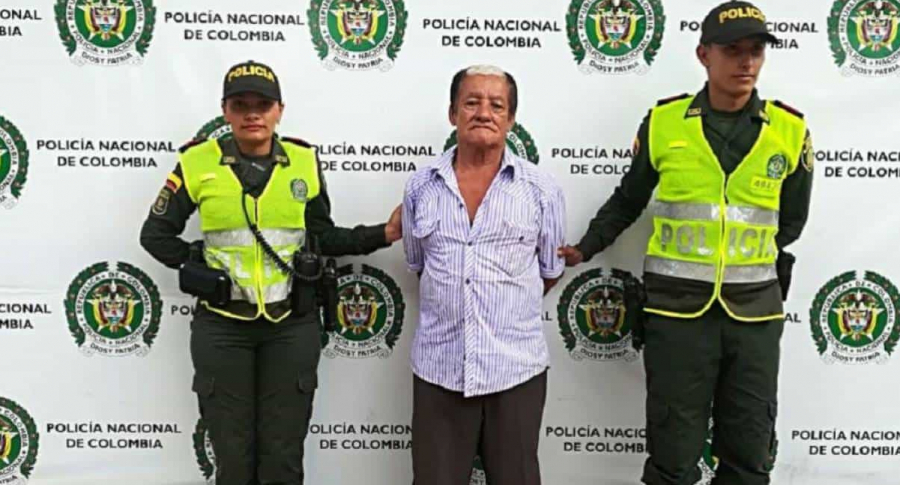 Eliberto Escobar, acusado de abusar a niña
