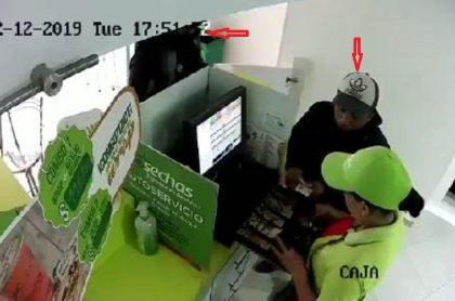 Atraco en tienda Cosechas