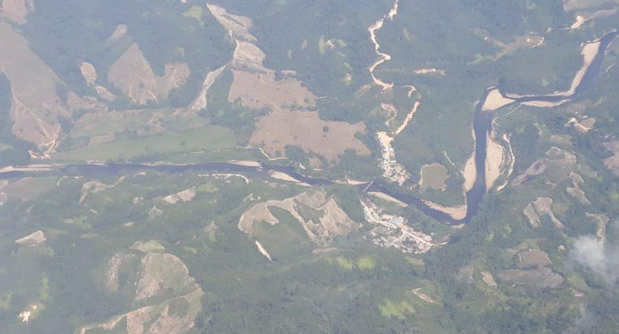 Crudo en el río Catatumbo