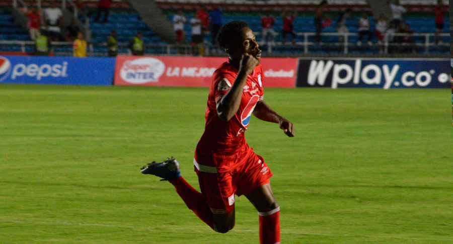 Jhon Quiñones Saya marcó el único gol en el Pascual Guerrero