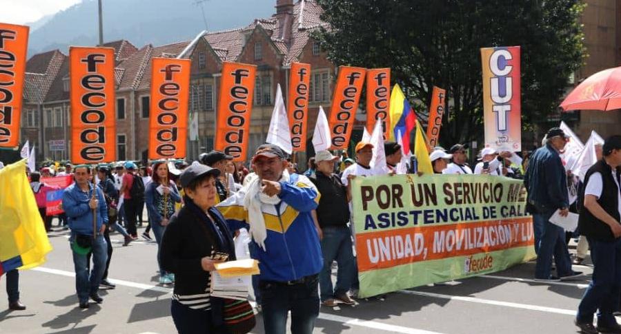 Marchas de profesores