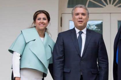 Duque y su esposa