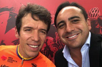 Rigoberto Urán y Mario Sabato