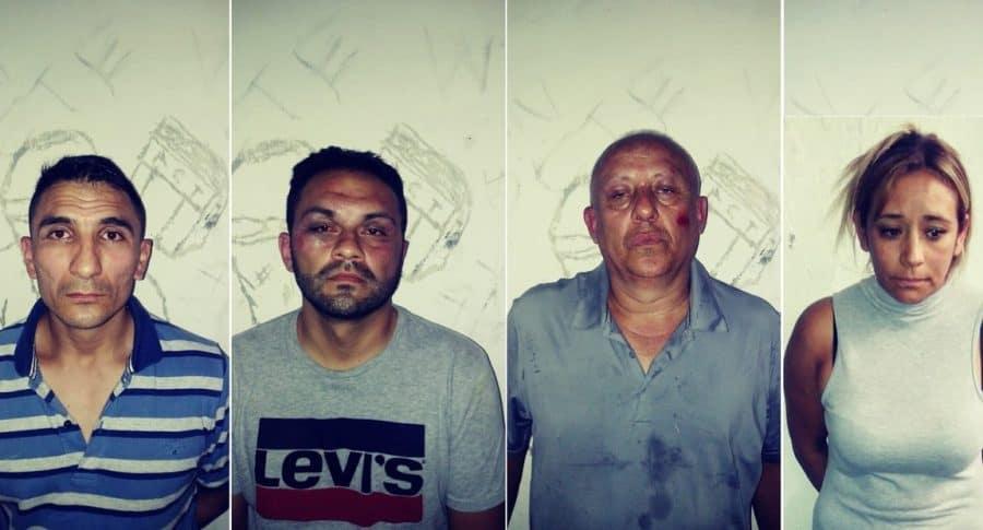 Ladrones colombianos en Argentina