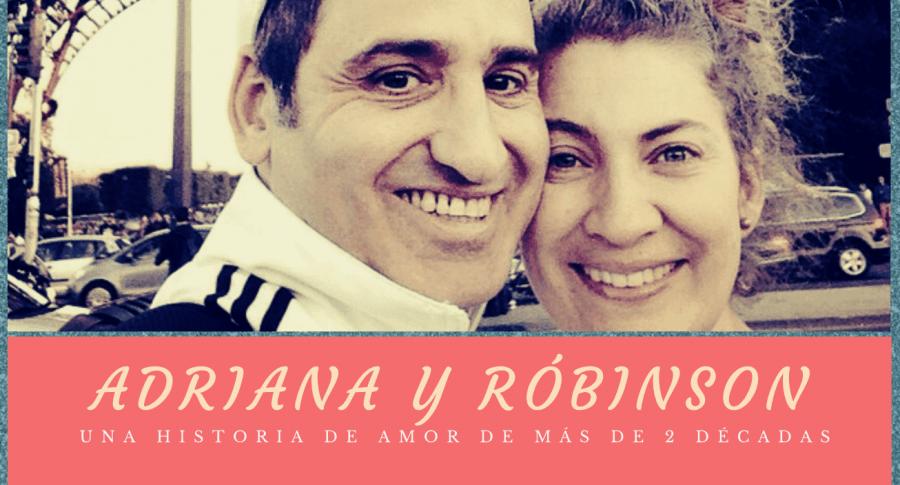 Róbinson Díaz y Adriana Arango