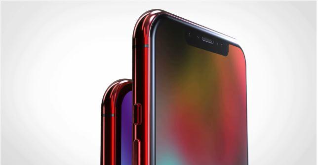 iPhone XS y XS Max Rojo