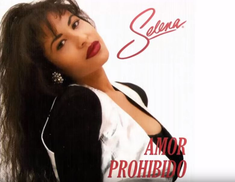 Selena Quintanilla, cantante (Q.E.P.D.).