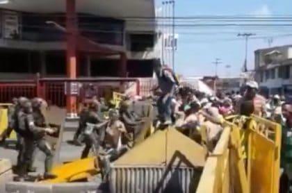 Enfrentamiento Venezuela