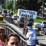 Alerta por contaminación en Bogotá