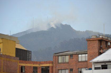 Incendio en Bogotá
