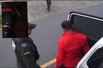 Turista detenido en Medellín
