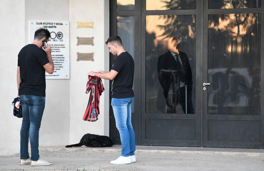 Despedida a Emiliano Sala