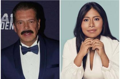 Sergio Goyri y Yalitza Aparicio, actores mexicanos.