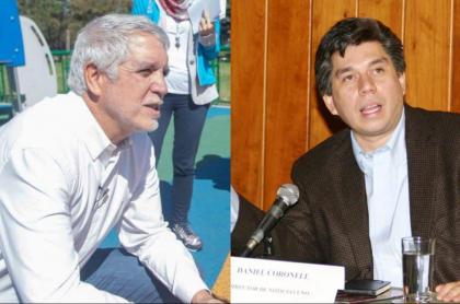 Enrique Peñalosa y Daniel Coronell