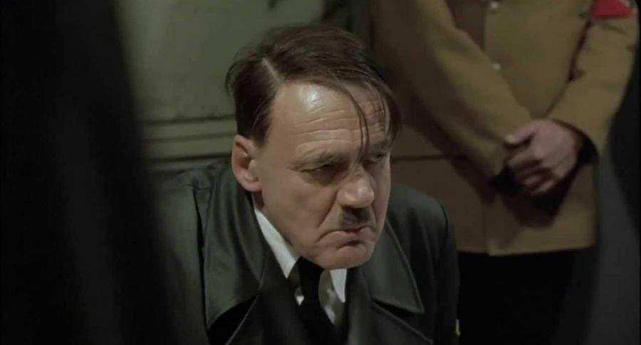 Bruno Ganz, como Hitler en 'Der Untergang'