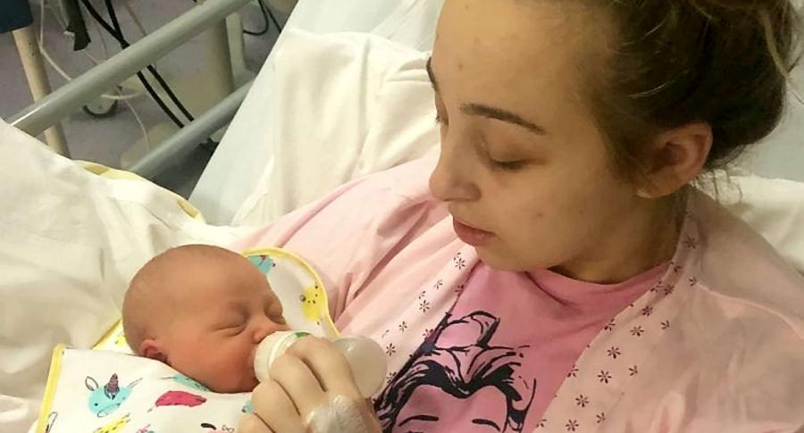 Ebony y su hija