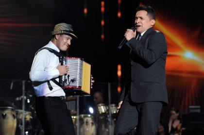 Jimmy Zambrano y Jorge Celedón