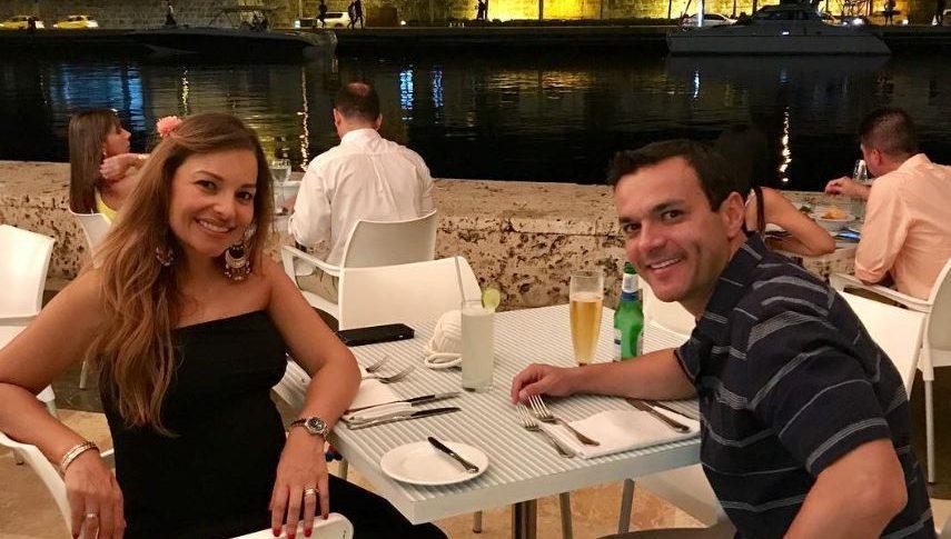 Ana María Escobar y Juan Diego Alvira