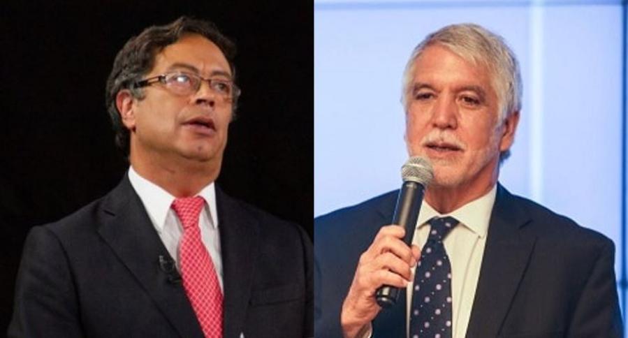 Gustavo Petro y Enrique Peñalosa