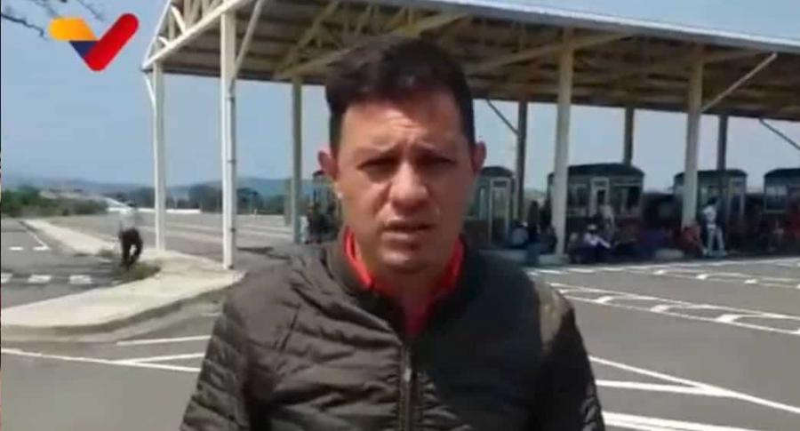 Alcalde de municipio Bolívar, William Gómez